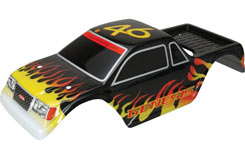 Body Shell (Black/Decaled) Genesis - z-cengs101bk