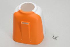 Ripmax WOT 4 Foam-E Cowl (Orange) - z-cf020-08ox