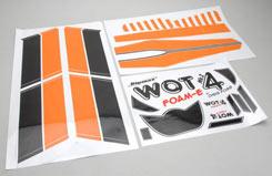 WOT 4 Foam-E Decal Set (Orange) - z-cf020-14