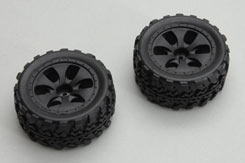 Ripmax Husky Wheel/Tyre Set (1 Pair - z-rmx738003