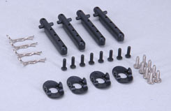 Body Mount Parts (4 Hole/Pk4) XST - z-xtm148763