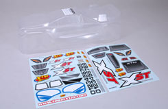 Body (Clear) & Decals - XST - z-xtm148775