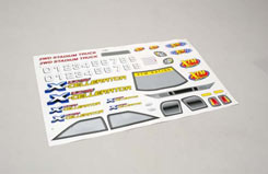 Decal Sheet Electric X-Cellerator - z-xtm148831