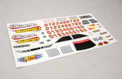 149166 Decal Sheet N-Xcel - z-xtm149166