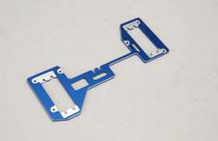 Radio Plate-Blue 7075 Aluminium XLB - z-xtm149768