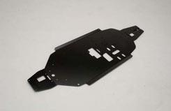 Chassis (3mm/6061/Black) XLB - z-xtm149919